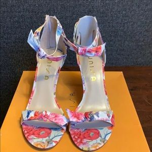 Floral Unisa Two Piece Sandal